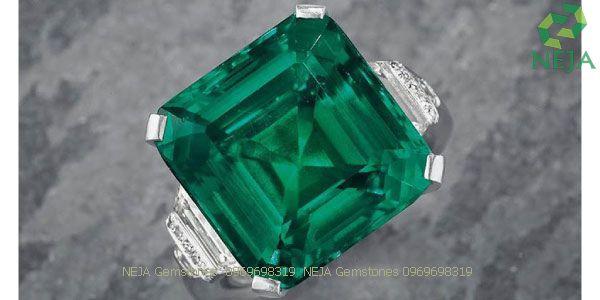 Rockefeller Emerald ngọc lục bảo đắt giá nhất thế giới