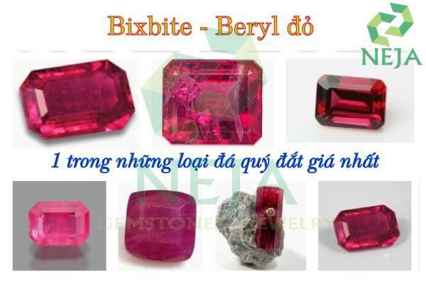 đá quý bixbite là gì