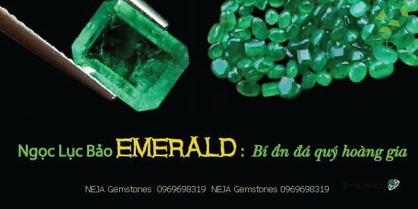 trang sức ngọc lục bảo emerald