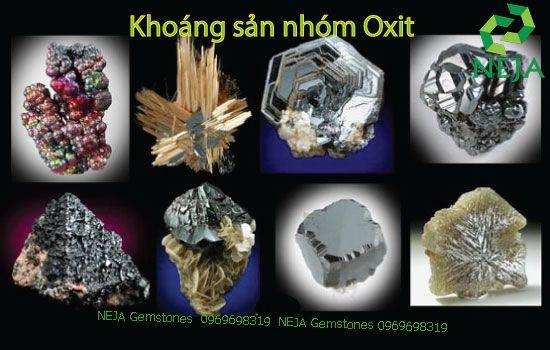 khoáng sản nhóm oxit