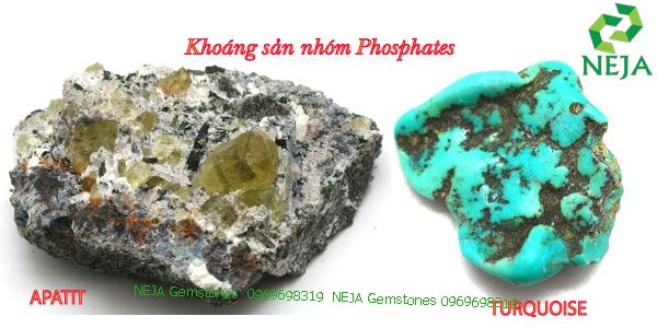 khoáng sản nhóm phosphates