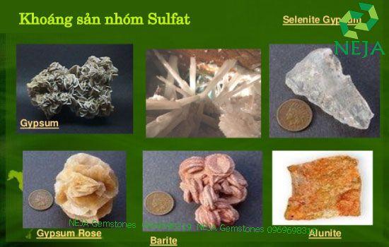 khoáng sản nhóm fulfat