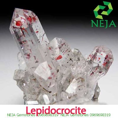 lepidocrocite trong thạch anh