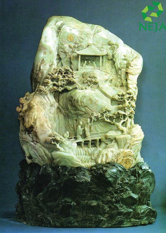 cổ ngọc được khai thác tại các lăng mộ thời nhà hán