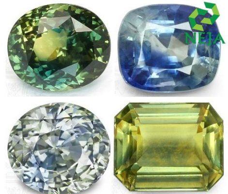 sapphire hai màu