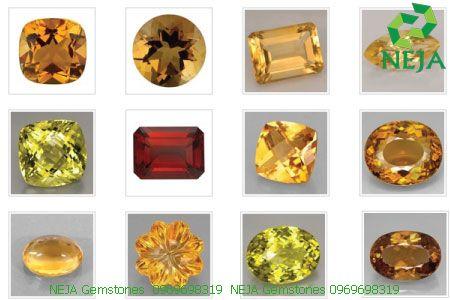 đá thạch anh vàng citrine là gì
