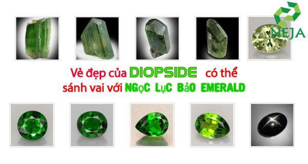ý nghĩa đá diopside là gì