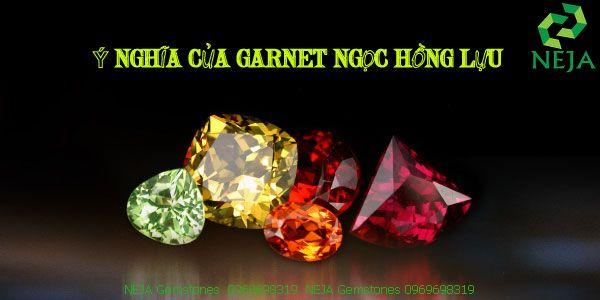 ý nghĩa đá garnet ngọc hồng lựu