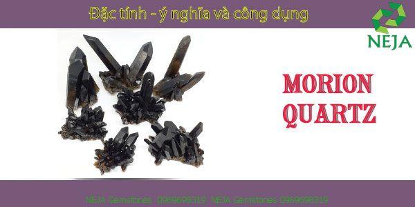 ý nghĩa đá thạch anh đen morion quartz