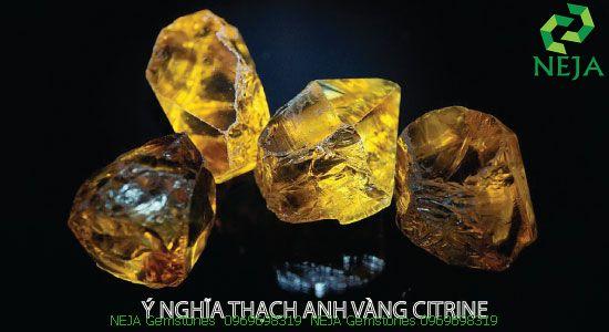 ý nghĩa thạch anh vàng citrine