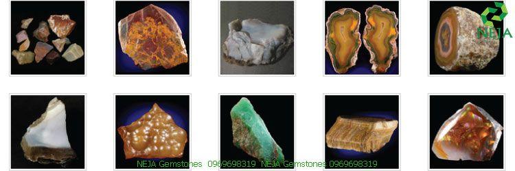 các loại đá thuộc nhóm chalcedony