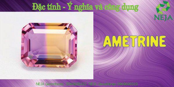 đá ametrine là gì