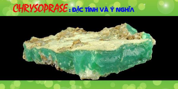 đá chrysoprase là gì