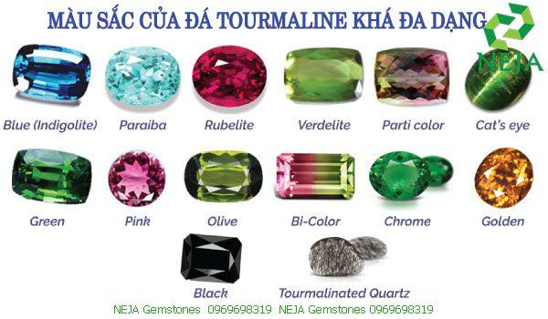 đá tourmaline là gì