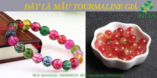 phân biệt đá tourmaline thật giả