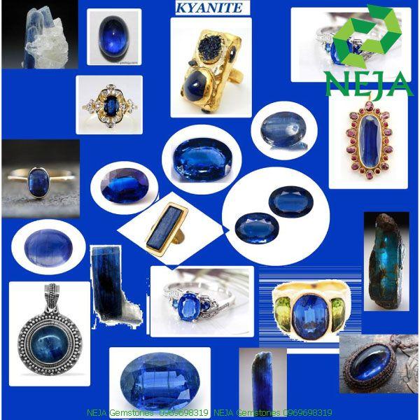 trang sức đá kyanite
