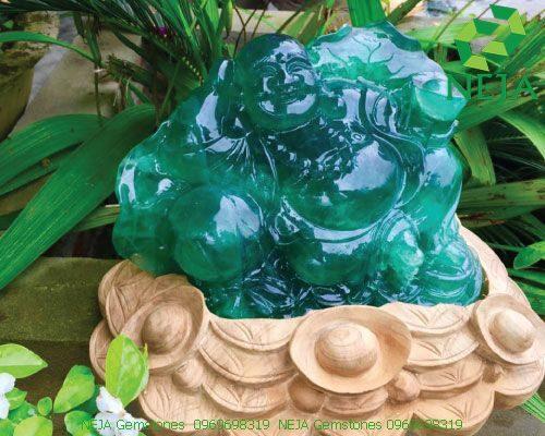 tượng phật bằng đá fluorite