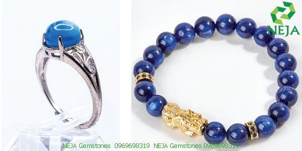 Nhẫn, vòng tay đá Kyanite