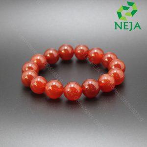 vòng đá mã não đỏ cam