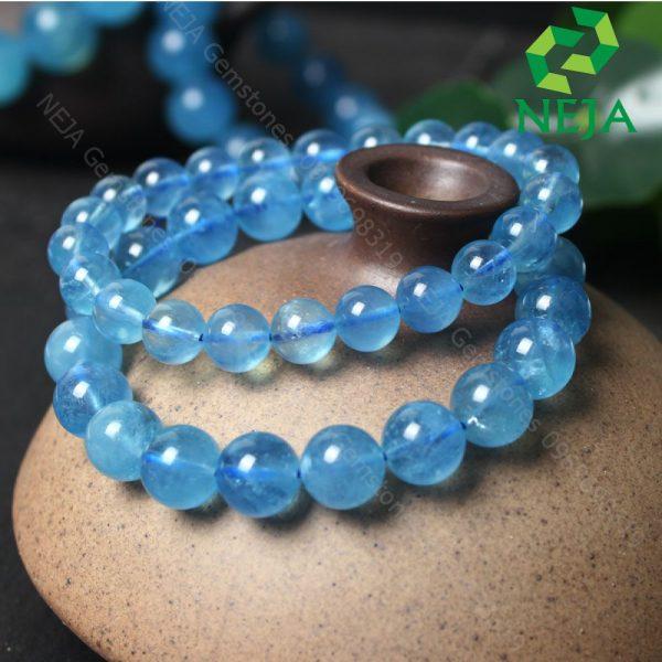 vòng tay đá aquamarine vip