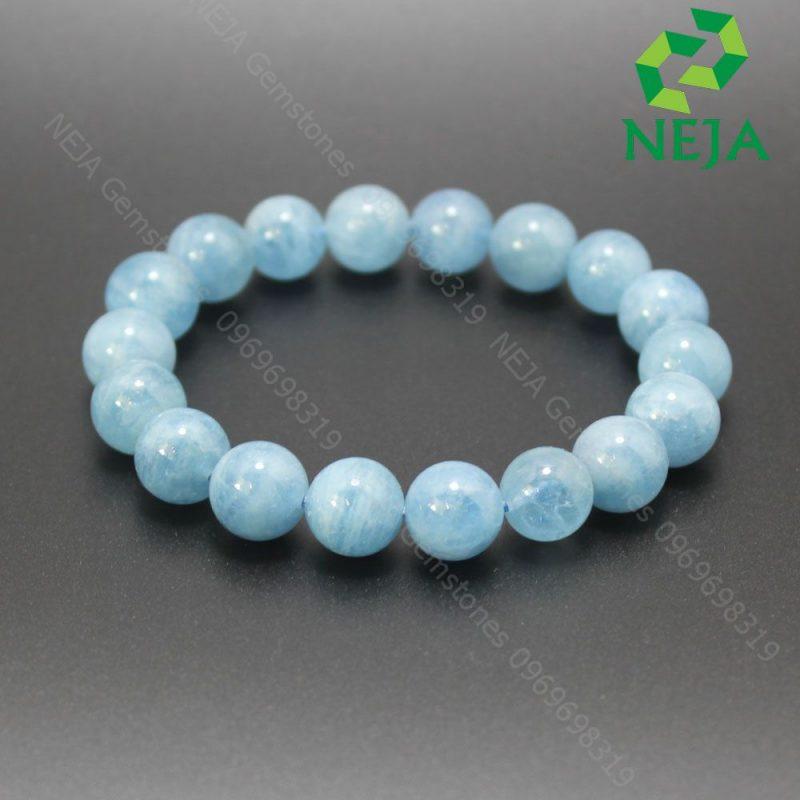 vòng tay đá aquamarine