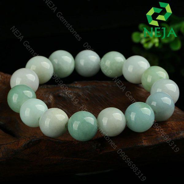 vòng cẩm thạch trắng xanh