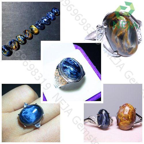 nhẫn đá pietersite