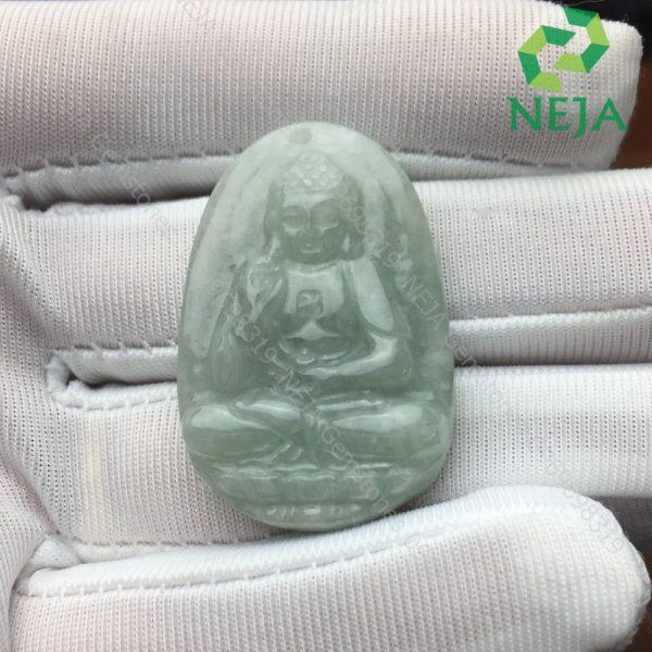 mặt dây chuyền phật a di đà đá cẩm thạch jadeite
