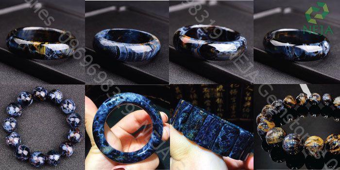 vòng tay đá pietersite