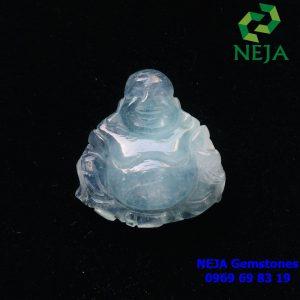 phật di lặc đá aquamarine